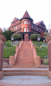 The McCune Mansion today.  (Photo taken by author).