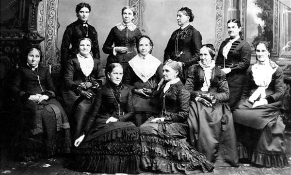 Image result for pioneer Mormon women
