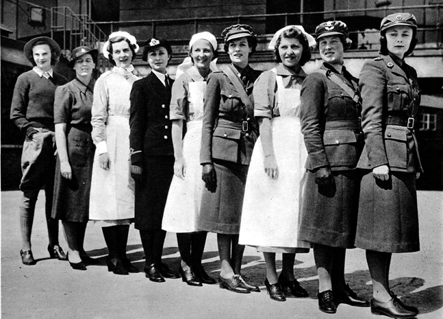 the changes in the role of women after world war one