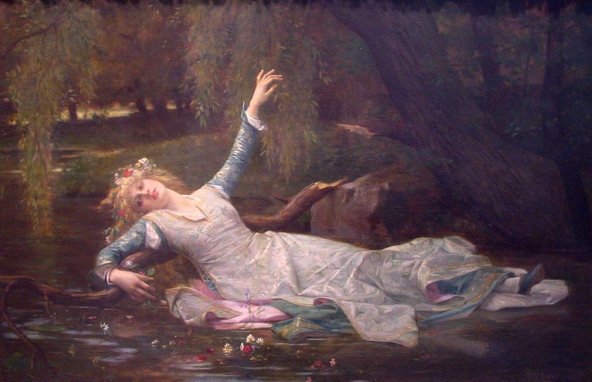 Ophelia by Cabanel