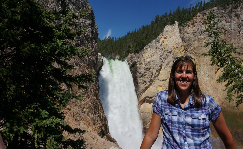 2014 Yellowstone Trip with Bessie and LaMar Trego