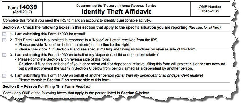 Are You Protecting Yourself From Tax Identity Theft Aspiring